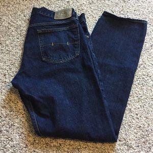 Ralph Lauren polo men's jeans dark